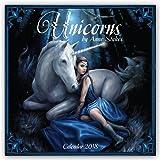 Unicorns by Anne Stokes – Einhörner von Anne Stokes 2018: Original Flame Tree Publishing-Kalender [Kalender] (Wall-Kalender)