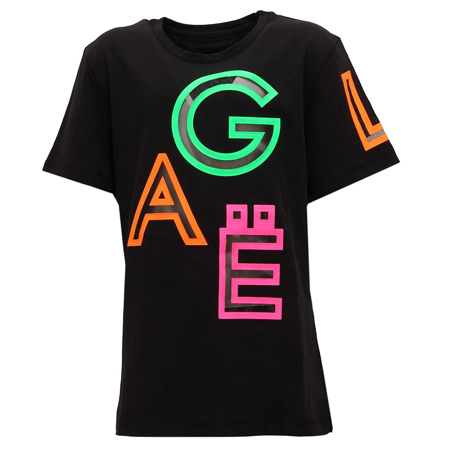 noir M (12 YEARS) GAeLLE 3336U Maglia Bimba Teen Paris noir noir t-Shirt Enfant Girl