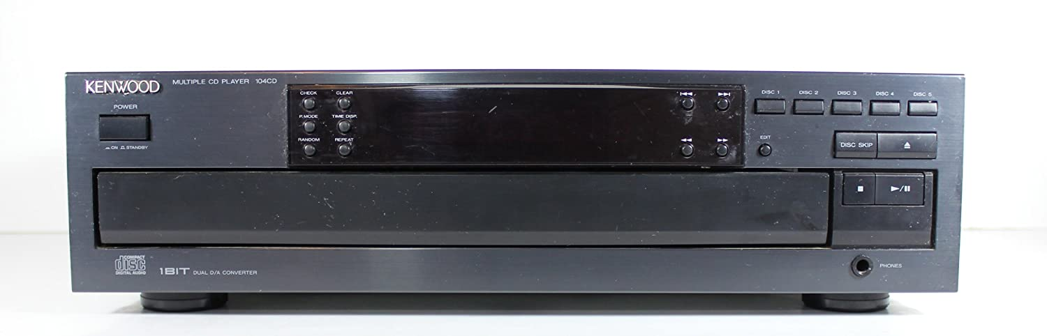 Kenwood 104CD 5 Disc CD Changer Player Multi Compact Disc Player