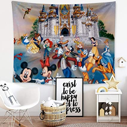 Amazoncom Disney Collection Tapestry Disney Wallpaper