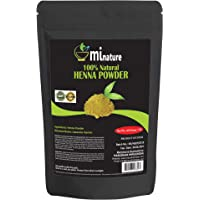 mi nature Henna Powder (LAWSONIA INERMIS)/ 100% Pure, Natural Henna from Rajasthan, India (454g / (1 lb) / 16 ounces…