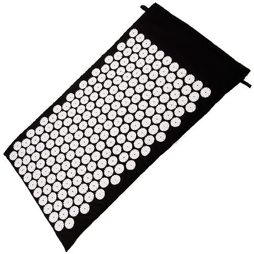 SurePromise One Stop Solution for Sourcing 75x44CM Colchon Alfombra Masaje de Acupresion Shakti India con bolsa nilon color negro: Amazon.es: Zapatos y ...
