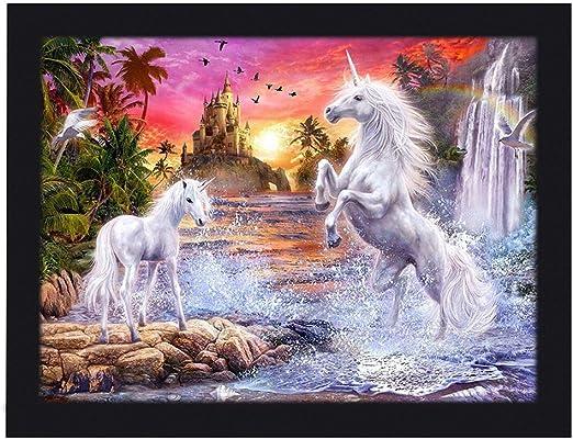 3D-Unicorn-Picture-Holographic-Poster-Unicorn