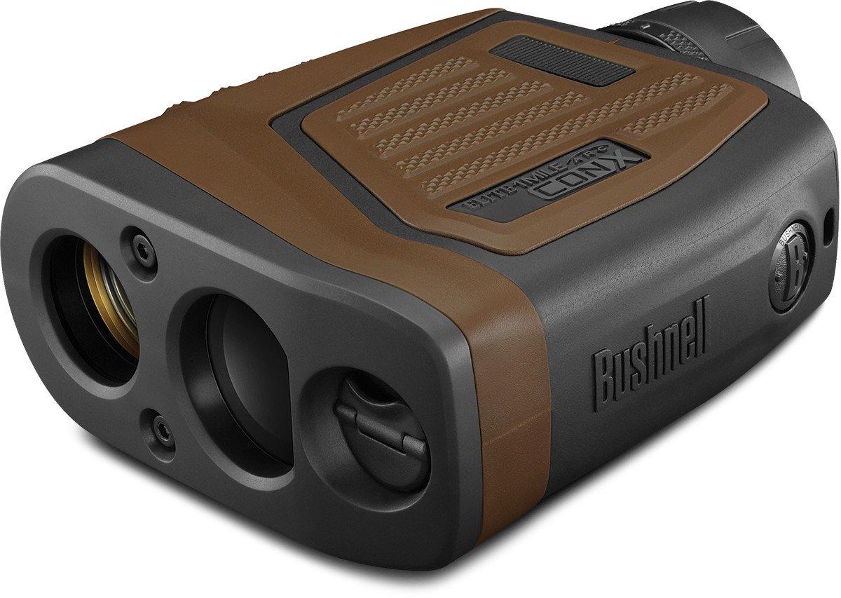Bushnell Hunting Series Elite 1 Mile Con-X Horz Bluet Arc Vdt Esp Wp Box 6L Laser Rangefinders, 7 X 26, Brown