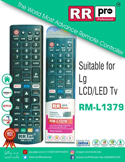 Buy SAE Remote Control with Function Netflix Button for LG