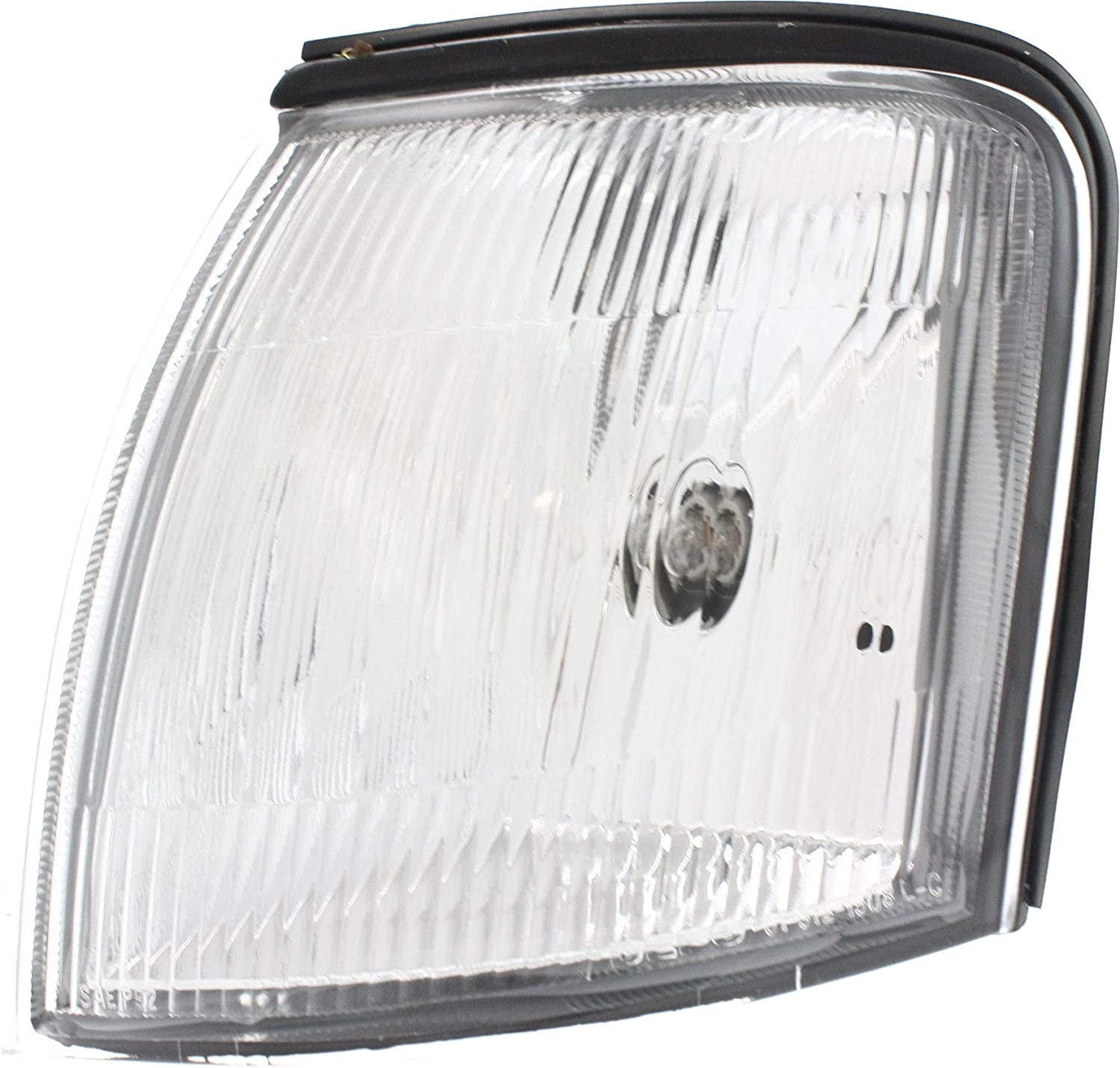 Corner Light Compatible with 1995-1997 Toyota Avalon Plastic Clear Lens With bulb Driver Side
