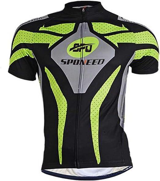 Amazon.com: sponeed playera de ciclismo para hombre mtb ...