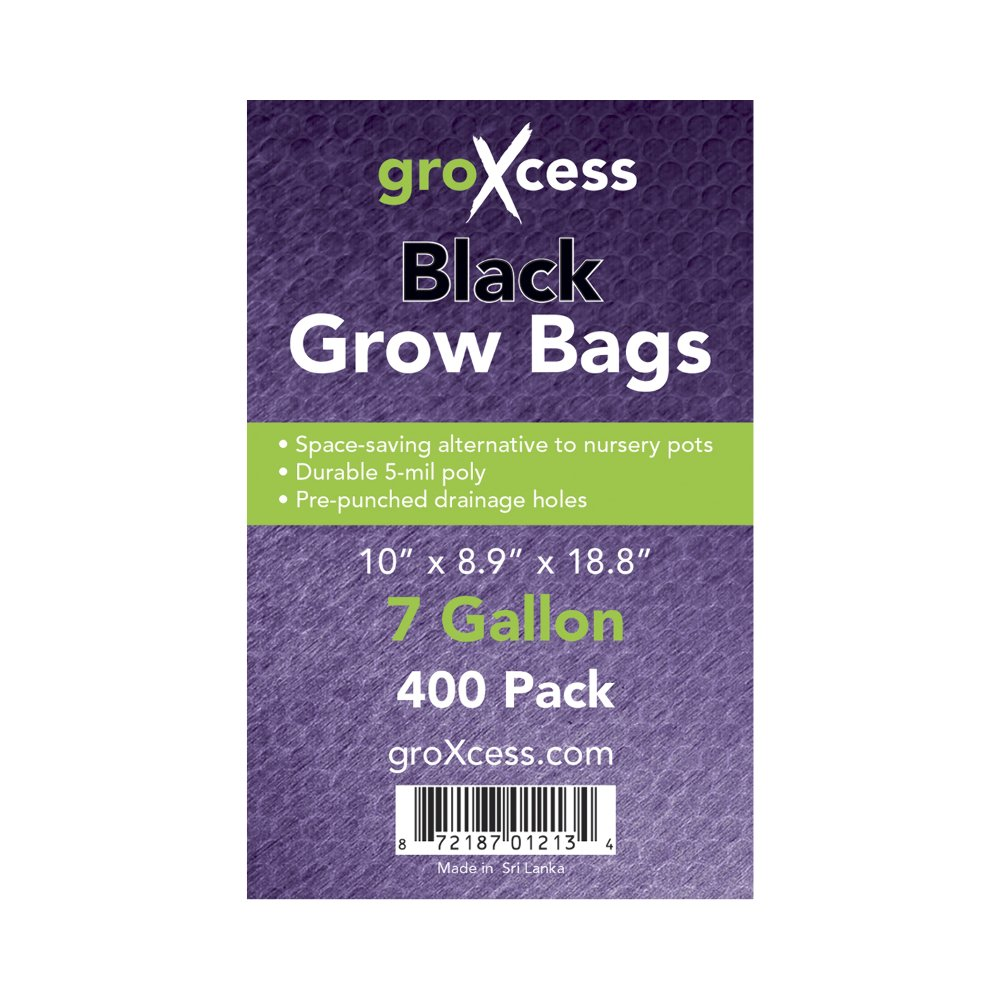 GroXcess Black Grow Bags by GroXcess