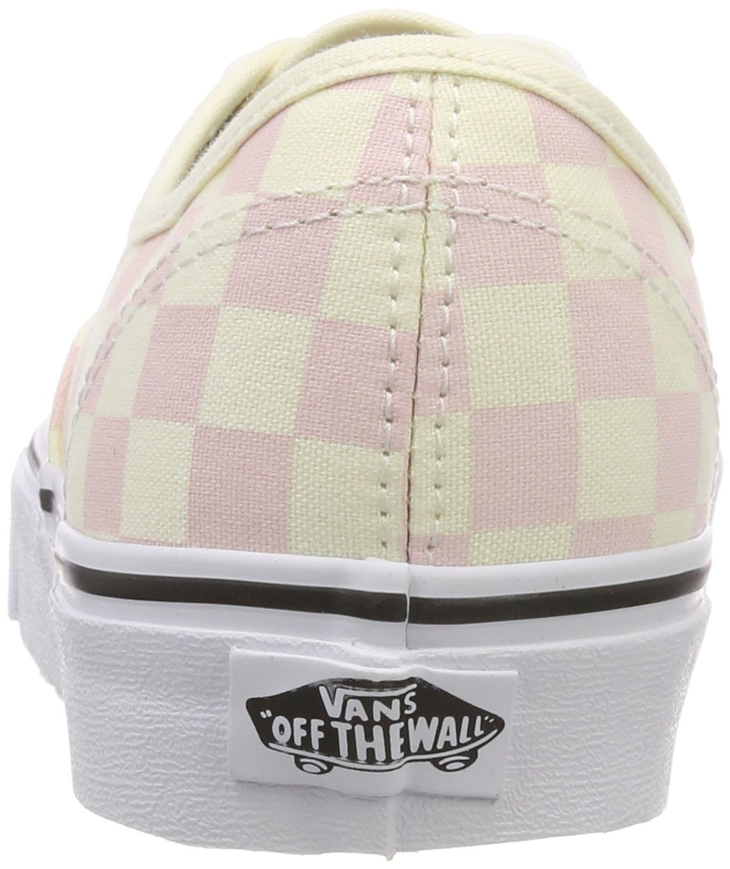 Vans Women's Authentic Trainers, Pink (Checkerboard) Chalk Pink/Classic White Q8l, 5.5 UK 38.5 EU by Vans (Image #2)