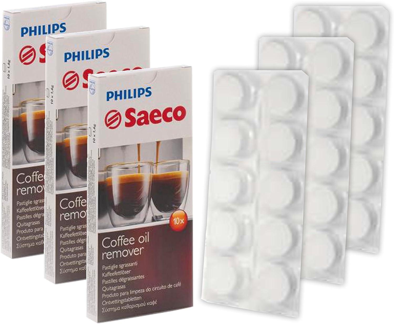 Philips Saeco cafetera máquina grasa grasa aceite pastillas (Pack ...