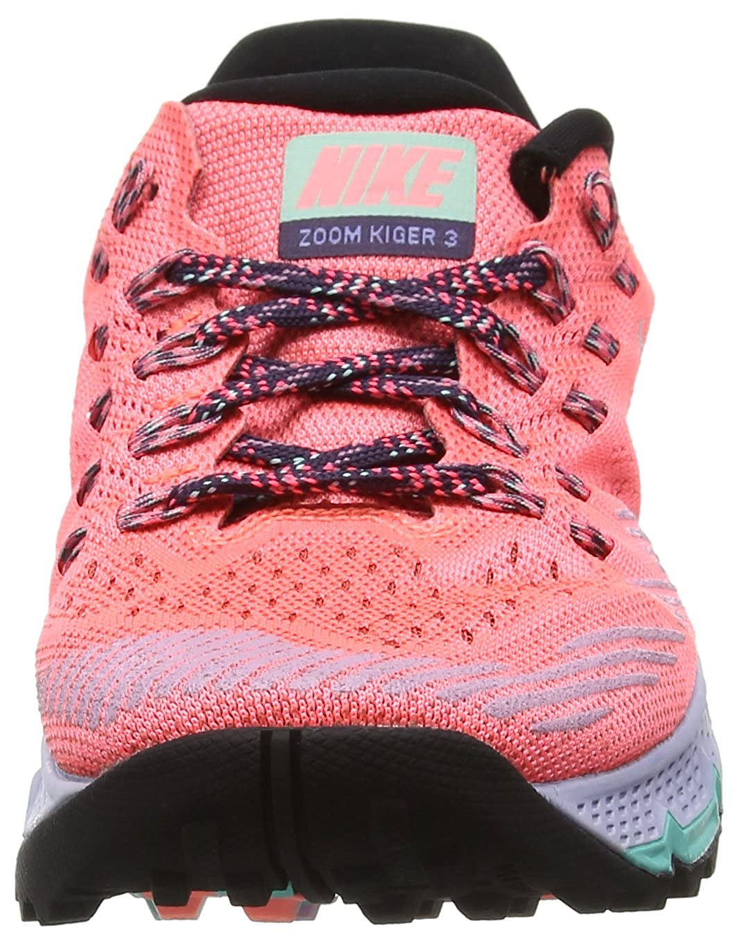 Nike W Air Zoom Terra Kiger 3, Scarpe Running Donna, Rosso (Lava Glow/Orchid/Black/Hyper Turquoise), 36.5 EU