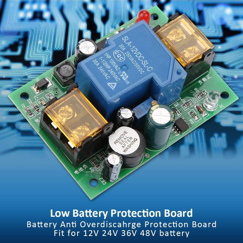 12V 24V 36V 48V Garant/íA de Seguridad Baja Tensi/óN de La Bater/íA Sobre Descarga Controlador de Descarga Del Tablero de Protecci/óN