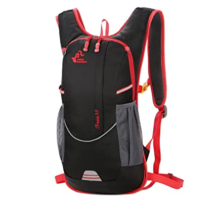 Genold Hydration Pack 12L Water Backpack for 2L Hydration Bladder  Lightweight Water Resistant Outdoor Sports Bag for Cycling Running Climbing  Hiking ... 4320af7075