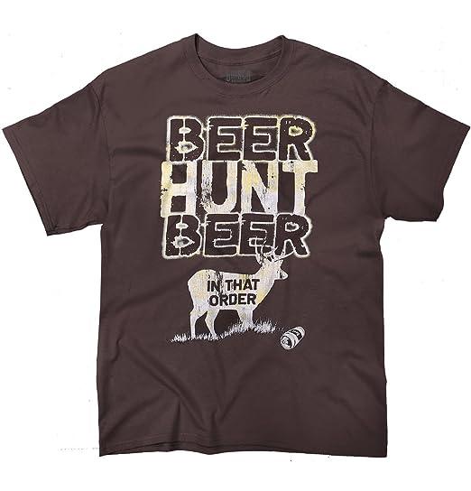 amazon com meadow creek hunting beer shirt sporting good outdoor