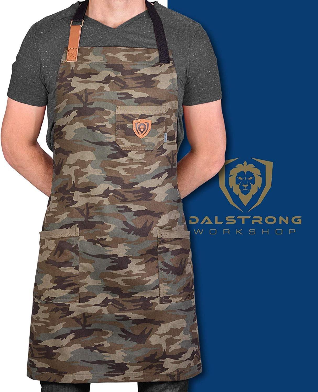 Delantal Dalstrong The Kitchen Rambo dise/ño de Camuflaje