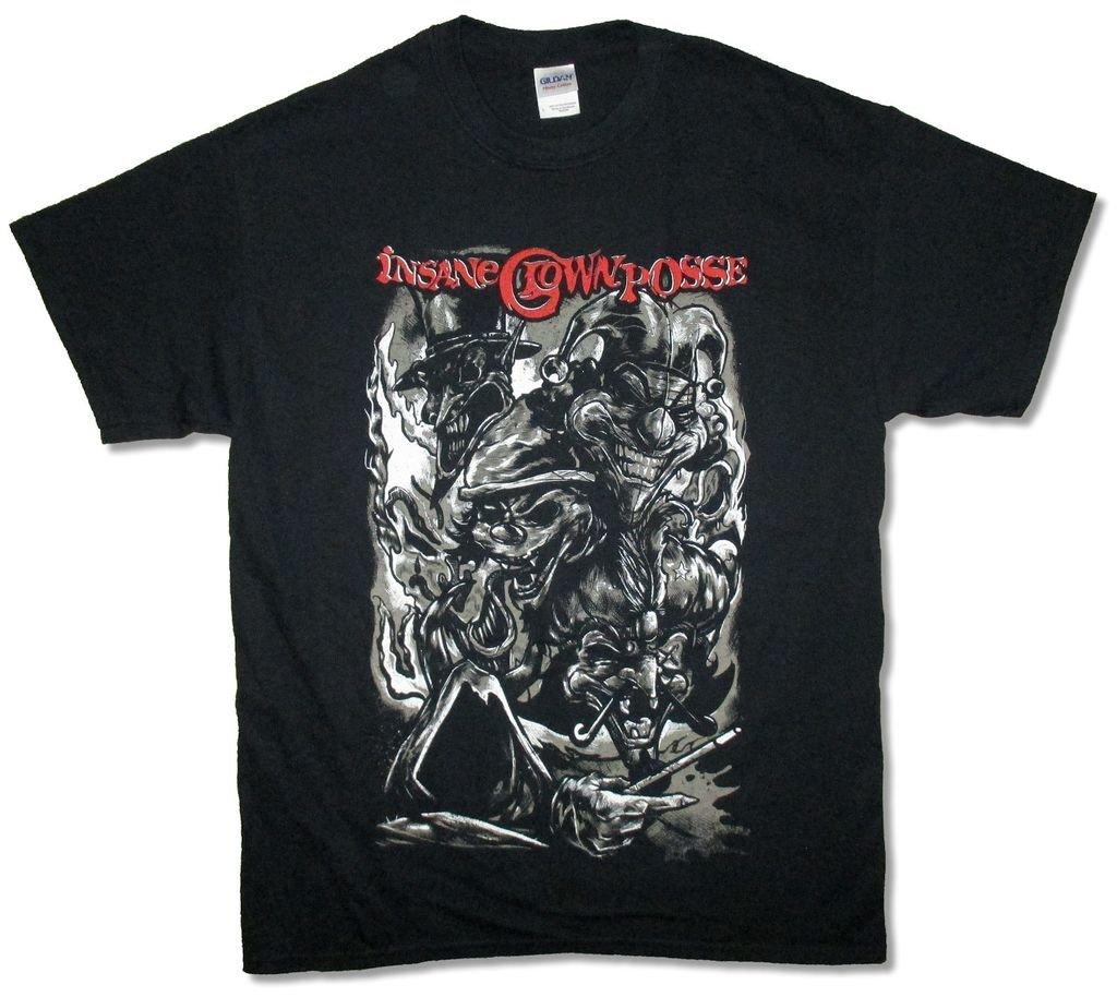Insane Clown Posse Sketch Logo T Shirt Icp 5646