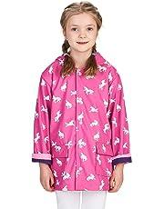 Hatley Girls Raincoat-Butterflies Chubasquero para Niñas