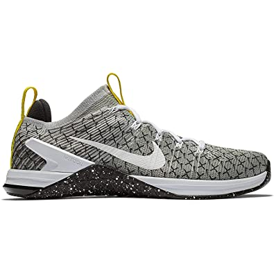 beb14196301 Nike Men s Metcon DSX Flyknit 2 X Black White-Dynamic Yellow 7.5