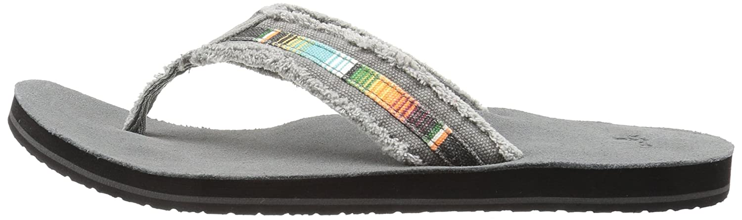 Sanuk Mens Fraid So Flip Flop