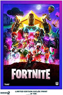 Amazon Com Poster Fortnite Game 24x36 Inches Standard Size New