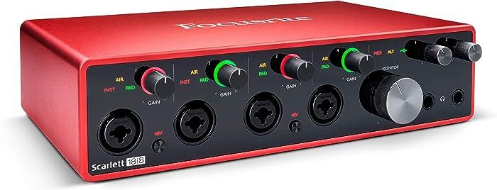 Top 10 Laptop 24Bit Inline Usb Audio Interface