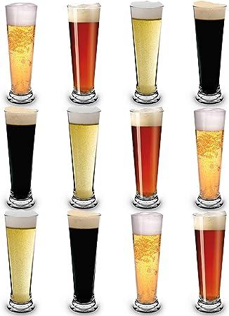 RB Vasos de Cerveza Pilsner Nucleados Plástico Premium Irrompible ...