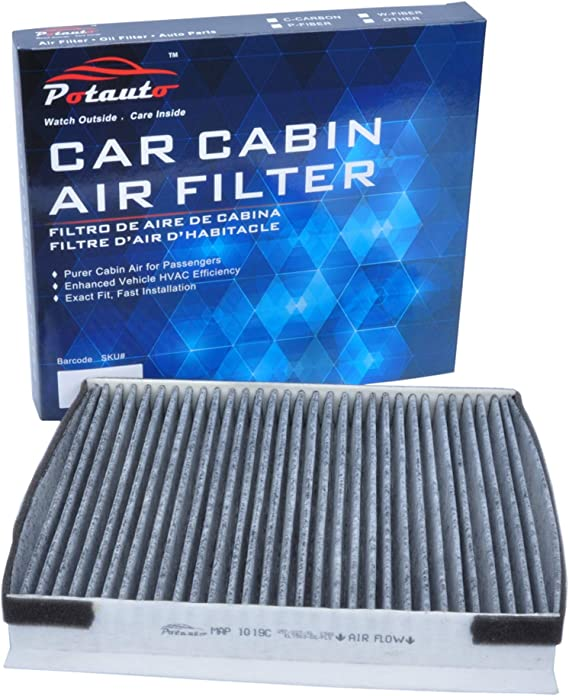POTAUTO MAP 1019C (CF10735) Replacement Activated Carbon Car Cabin Air Filter for HYUNDAI