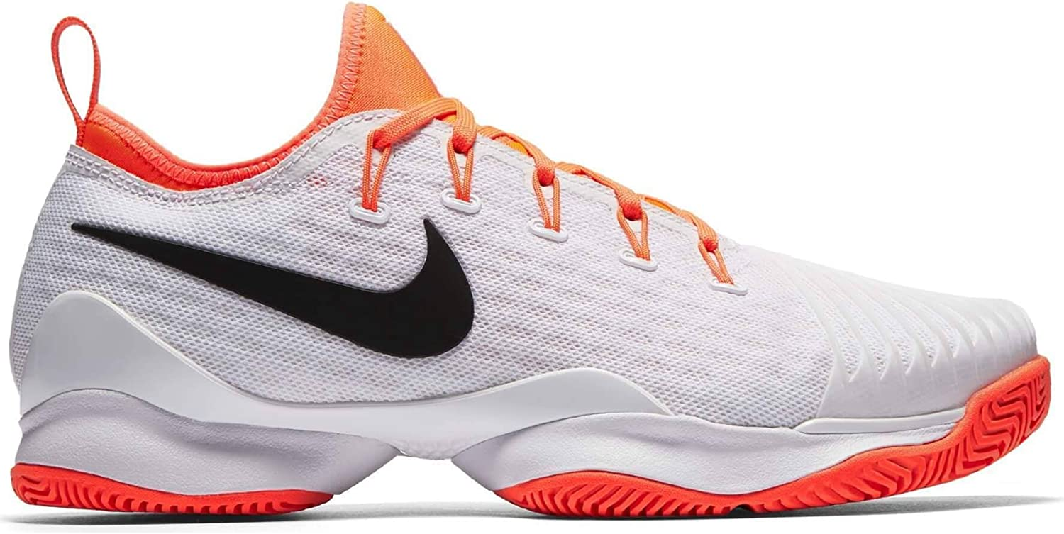 Nike Air Zoom Ultra Fly Low Chaussures de Tennis pour Femmes (BlancOrange)