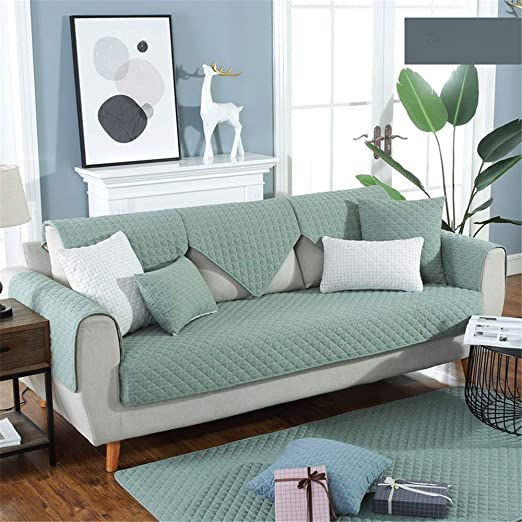 WSWSZ Elegante cojín para sofá Minimalista, Lavado, algodón ...