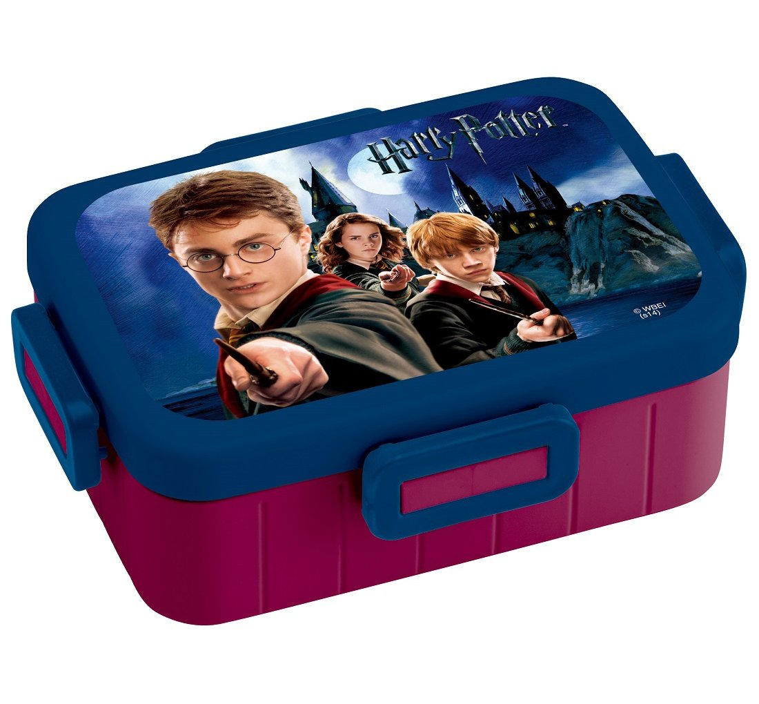 4 -point lock lunch box 650ml Harry Potter YZFL7 by SKATER by Skater