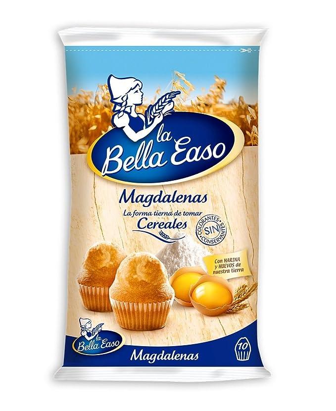 La Bella Easo Magdalenas Redondas - 10 Unidades: Amazon.es: Amazon Pantry