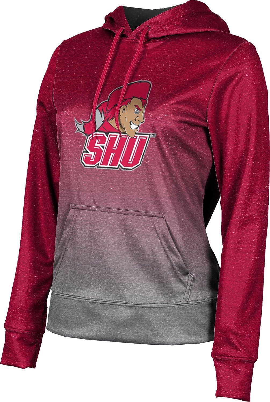ProSphere Sacred Heart University Girls Zipper Hoodie Ombre School Spirit Sweatshirt  Active Sweatshirts Clothing