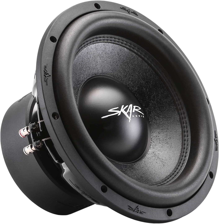 "Skar Audio SVR-12 D2 12"" 1600 Watt Max Power Dual 2 Ohm Car Subwoofer"