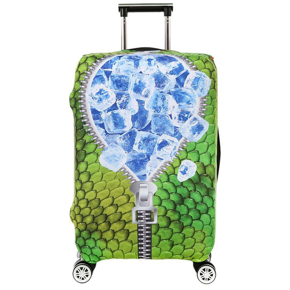 YiJee Elastic Gepäck Abdeckung Staubgeschützt Anti-Kratzer Koffer Schutz