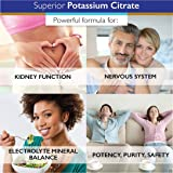 Superior Labs - Potassium Citrate NonGMO Supplement - 100 mg Dosage, 120 Vegetable Capsules - Maintains Overall Health - Supports Kidney Function - Electrolyte Mineral Balance