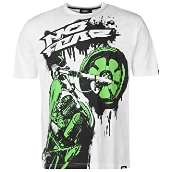 No Fear Hombre Motocross Camiseta Diseño Gráfico Manga Corta U1jhf