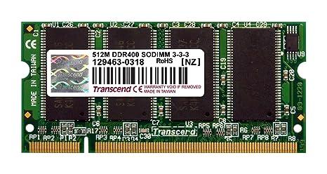 Amazon.com: Transcend módulo de memoria RAM ts64msd64 V4j ...