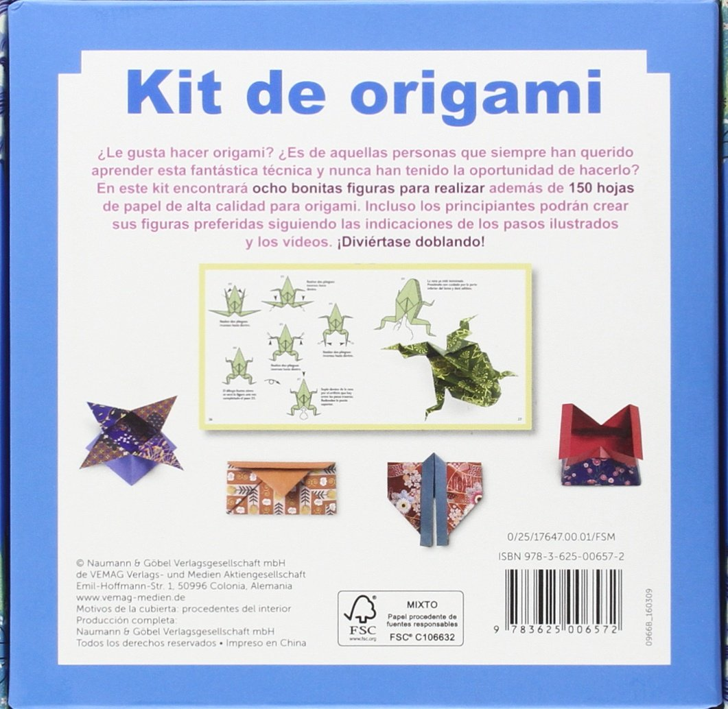 Kit De Origami: Amazon.es: Francesco Decio, Vanda Battaglia, Lisa Heilig: Libros