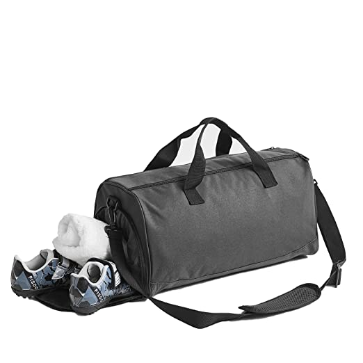 780130866280 ANN Sports Gym Bag with Shoes Compartment Travel Duffel Bag for Men and  Women