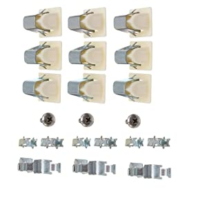 Dryer Door Latch Kit Part For Electrolux Frigidaire Kenmore 5366021400 279570 93717 694343 696144 8208 830751(Set of 3) by Swess