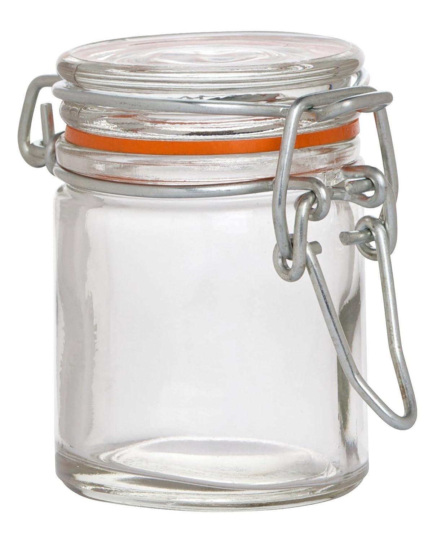 1.75 oz. Pack of 12 Hospitality Glass Brands HG210983-012 Mini Preserving Jar