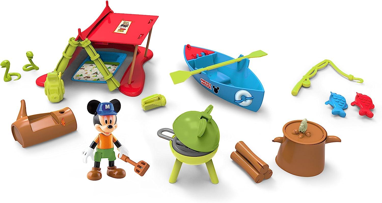 IMC Toys - Nos Vamos de Acampada Mickey (182042): Amazon.es: Juguetes y juegos