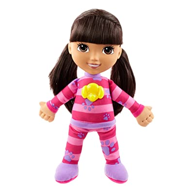 Fisher-Price Nickelodeon Dora & Friends, Snuggle and Glow Dora: Toys & Games