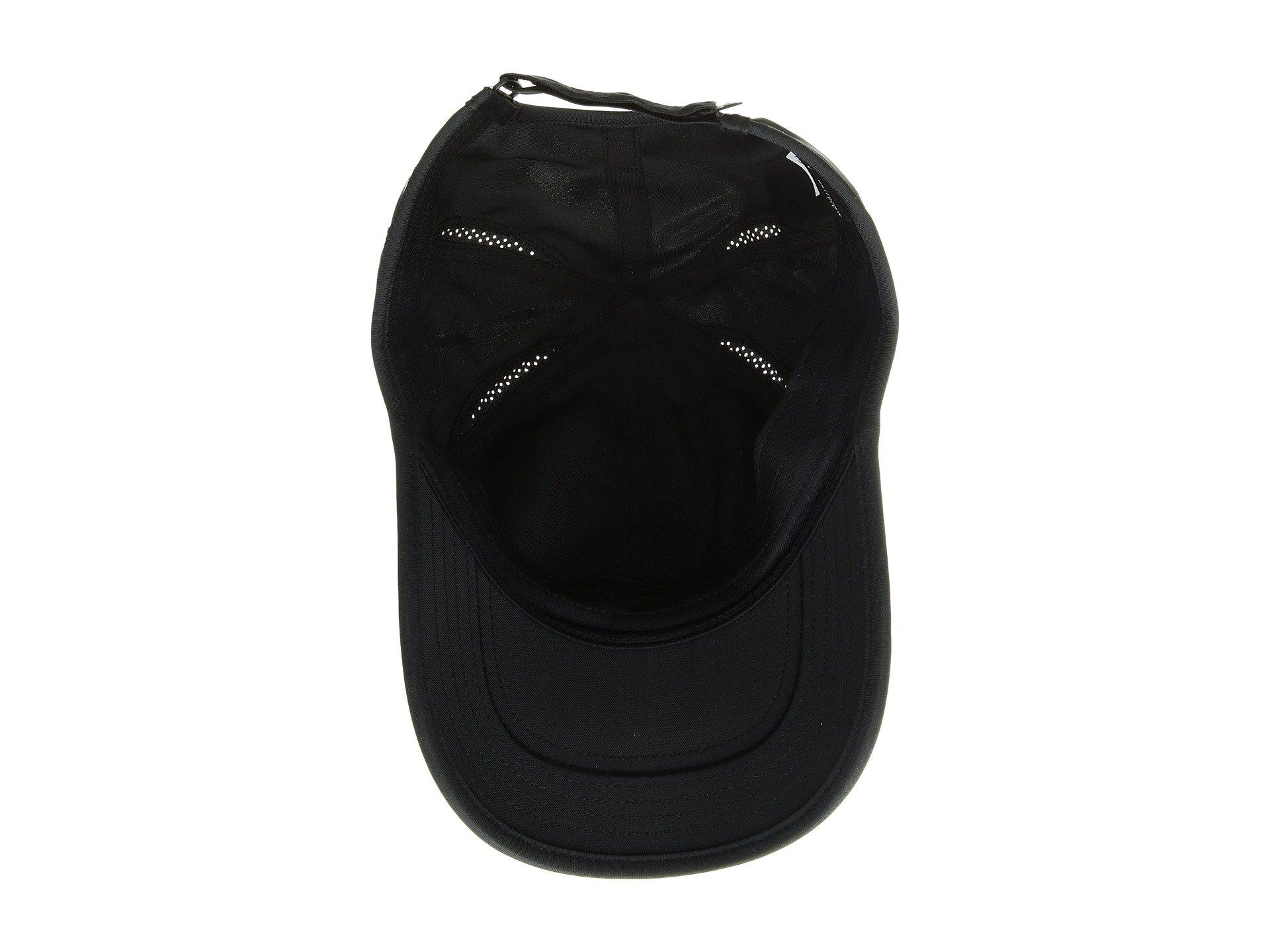 Nike Unisex Court AeroBill Featherlight Tennis Adjustable Cap Black/Black/Orange Peel (ONE Size) by NIKE (Image #4)