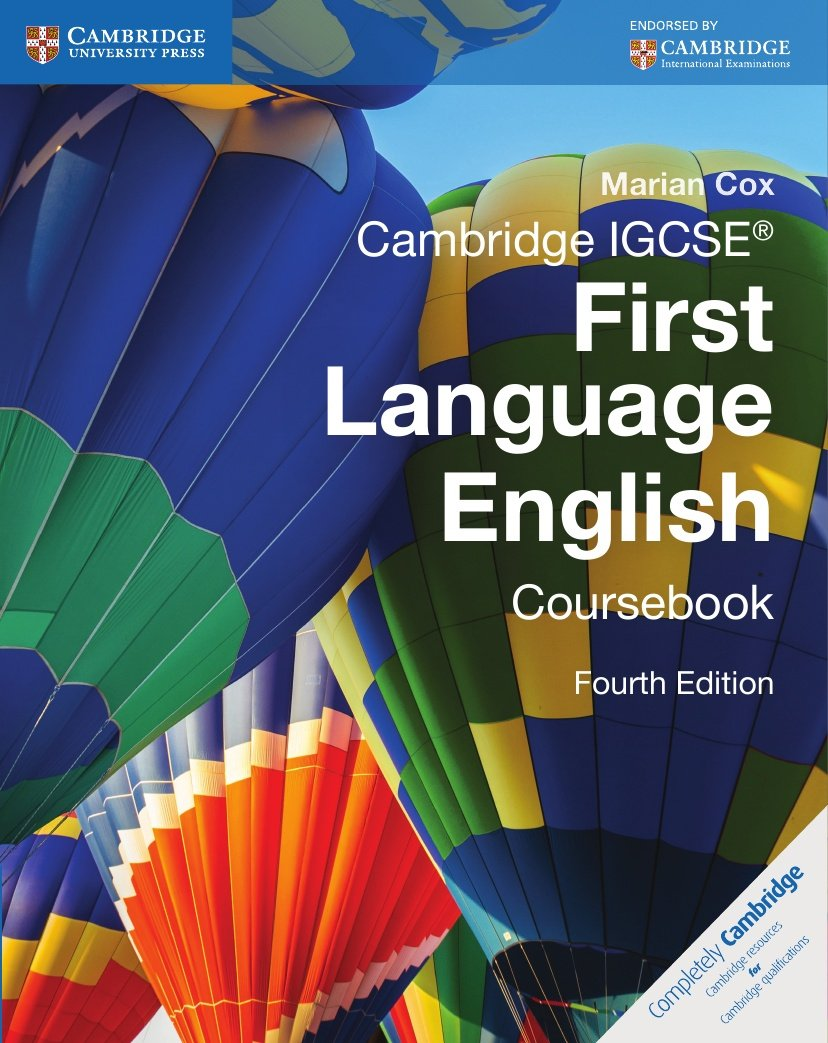 Cambridge IGCSE® First Language English Coursebook (Cambridge International IGCSE) by imusti