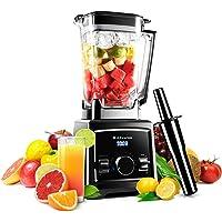 Alfawise Blender Mixeur Smoothie Multifonctionnel Blender à Haute-Puissance 2000W avec 2L Tasse + 8 Lames en Acier Mélangeur à Grande Vitesse pour Smoothies Fruits Légumes Glace et Moulin