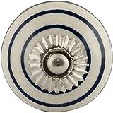Bombay Duck - Plain Bonbon Ceramic Door Knob - Dove Grey: Amazon.co ...