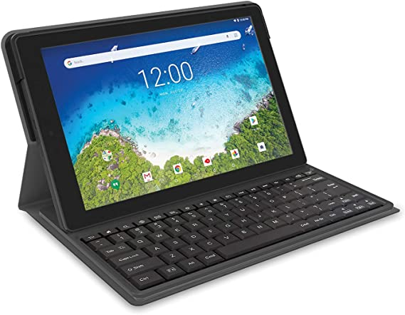 2019 RCA Viking Pro 2-in-1 Tablet 10'' Touch Screen and Detachable Keyboard
