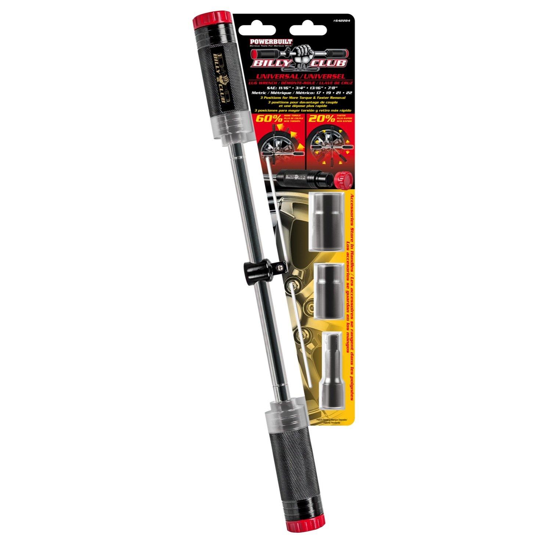 Powerbuilt 642284 Billy Club Heavy Duty Universal Lug Wrench