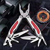 Multitool with Knife and Locking Pliers - Mini